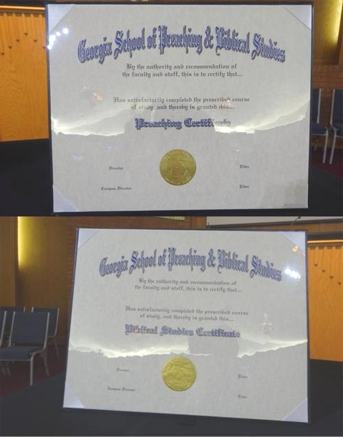 Curriculum - Georgia School of Preaching and Biblical Studies